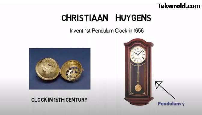 घड़ी का आविष्कार किसने, कब, और किस देश में किया था |
