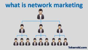 नेटवर्क मार्केटिंग क्या है